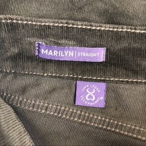 NYDJ Pants - NYDJ Marilyn Straight Brown Pants Size 2